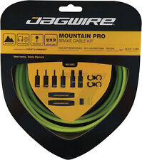 JAGWIRE MOUNTAIN PRO ERGON GREEN MTB BICYCLE BRAKE CABLE KIT