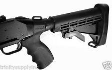 Mossberg 500 12 GA Tactical Shotgun 6 Position Stock+Pistol Grip Kit.