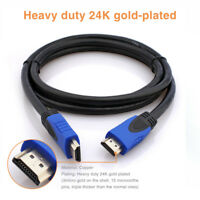 4K HDMI Cable 6FT Ultra High Speed HDMI 2.0 18G Gold Cord Ethernet HDTV 2160P 3D