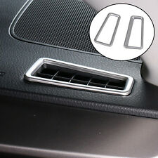 Fit For 13- Toyota RAV4 Chrome Front Air Vent Outlet Trim Dashboard Cover Frame