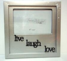 """Live - Laugh - Love  Picture Frame 4"""" x 6"""" ( NEW )"""