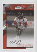 2014 Upper Deck USA Football Team Canada U-19 Rivals #C-40 Cedric Joseph Rookie