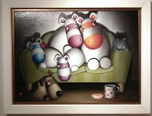 Peter Smith - Original Artwork of the Impossimals - Home Comforts
