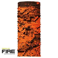 "Hunters Element Kayan Neck Gaiter Desolve FIRE blaze camo"" buff like"" balaclava"