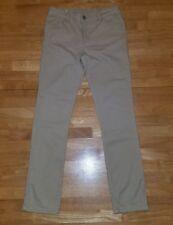 Euc-Girls Faded Glory Khaki Uniform Pants-Size 12