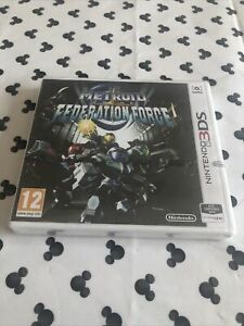 Metroid Prime Federation Force Nintendo 3DS 2DS  **BRAND NEW & SEALED**