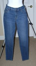 OLD NAVY SUPER SKINNY MID RISE  STRETCH JEANS 8 REGULAR 28 INSEAM