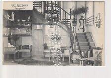 Oude Postkaart CPA Achterbroek Kalmthout Villa Den Duffelaer Interieur Traphal
