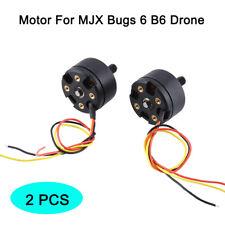 2pcs motor CW CCW Reparacion de cobre para Mjx B6 Bugs 6 QuadCopter RC drone