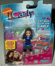 icarly Miranda Cosgrove Text Message Carly doll txt msg figure blue Xmas gift