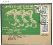 DBT294 1945 España Gafas caminar Tucanes anuncio productos químicos e/Londres