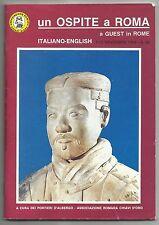 1994 Un Ospite A Roma A Guest In Rome Tour Guide Paperback Book Italiano-English