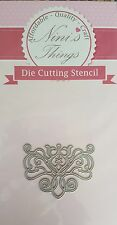 nini's things Filigree Accent no.1 cutting stencil set die Elegant scrapbook