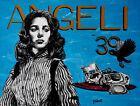 Original PIER ANGELI & JAMES DEAN Painting on CANVAS Pulp Surrealist Talbott