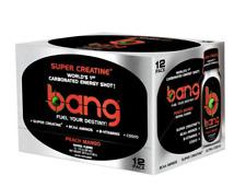 Bang Energy Shot Peach Mango NEW/SEALED 12 Pack