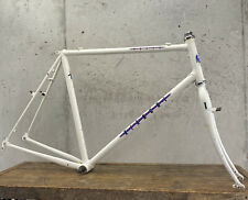 "Vintage Bianchi Frame Set DENT! Volpe Cross Terrain 700c Gravel Tour Lugged 22"""