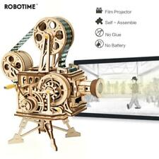 Robotime DIY Wooden Vitascope Model Construction Kits Building Set for Adults