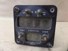 1973 PIPER PA-31-350 DAVCO M811A DIGITAL AIRCRAFT CHRONOMETER CLOCK TIMER