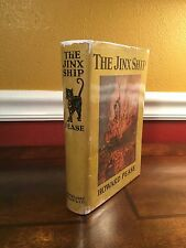 """1927 1st Edition/Printing """"THE JINX SHIP"""" by Howard Pease"""