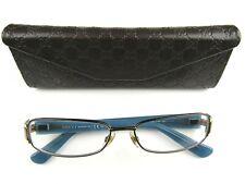 Gucci Eyeglasses GG 2869 YAW Brown on Teal Rectangular Frame Italy 54[]15 135