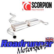 Scorpion Clio RS 200 EDC de Escape Sistema De Acero posterior Gato secundario no Res Nuevo