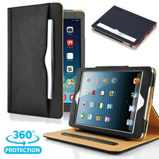 For APPLE iPad 2/ 3/ 4th. Soft Leather Wallet Smart Case Sleep/Wake Stand Cover