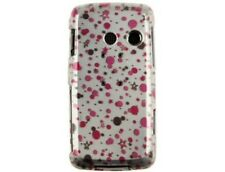Snap On Plastic Design Phone Case Polka Stars For LG Rumor Touch
