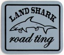 Land Shark vêtements Road Ting Skateboard Autocollant - 8.5 Cm Large-Gris Skate