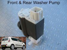 Front & Rear Windscreen Washer Pump For Kia Soul 2009, 10, 11 2012 1.6 GDi CDRi