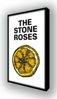 The Stone Roses, Ian Brown - Lemon - Wall Canvas Picture Print Wall Art 63x40cm
