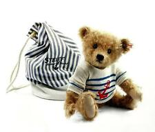 "STEIFF ""WILL TEDDY BEAR"" EAN 035807 CINNAMON MOHAIR LIMITED EDITION SAILOR BEAR"
