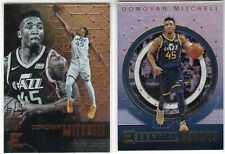 2017-18 Panini Essentials Donovan Mitchell RC & Essential Rookies