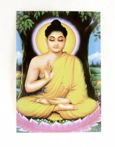 Postcard Buddha Blackburn Buddha Buddhism 4