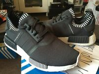 Adidas NMD_R1 PK Primeknit Runner Nomad Boost Japan Charcoal Grey White S81849