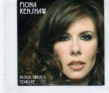 (HK828) Fiona Renshaw, Blood Sweat & Tears EP - 2007 DJ CD