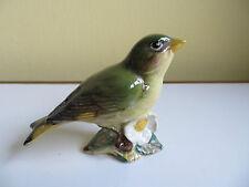 Beswick Greenfinch Bird Figurine Ornament 2105 Gloss Finish Vintage Pottery