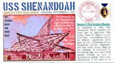 """COVERSCAPE computer designed 90th USS Shenandoah disaster event cover"