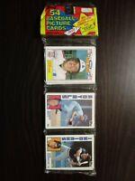 1984 Topps Baseball Rack Pack George Brett On Top