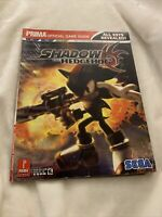 Rare ! Official Shadow the HedgeHog Guide by Prima Games
