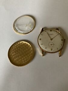 UNIVERSAL GENEVE Vintage Watch 18K Gold 262 Small Second