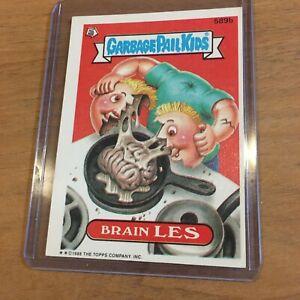 Garbage Pail Kids Brain Les 1988 Card Series 589b RARE! SEE DESCRIPTION!!!