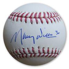 Maury Wills Signed Autographed MLB Baseball Los Angeles Dodgers JSA AA53614