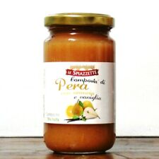 Pear, orange and vanilla jam of the Slow Food Presidium