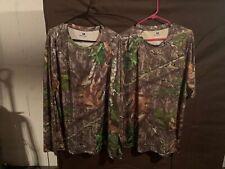 Mossy oak Obsession SS and LS shirt Sz XL, Medium Gloves