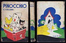 CARLO COLLODI LE AVVENTURE DI PINOCCHIO - SALANI 1937 ILLUSTRAZIONI DI FAORZI