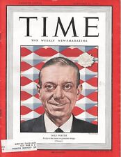 Time magazine January 31 1949  songwriter composer pianist Cole Porter