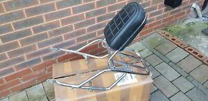Yamaha XS750 rear parcel rack & passenger back rest XS850 XS1100 luggage rack