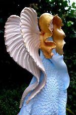 ANGELO in ceramica da appendere ARTE fatto a mano realizzato a mano BELLISSIMI COLORI Fattoria shop 06-05