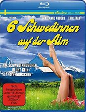 6 Six Swedes in the Alps (1983) Erwin Dietrich BLU-RAY Import NEW USA Compatible