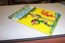 GASTON 11 GAFFES BEVUES ET BOULETTES dos rond 1974